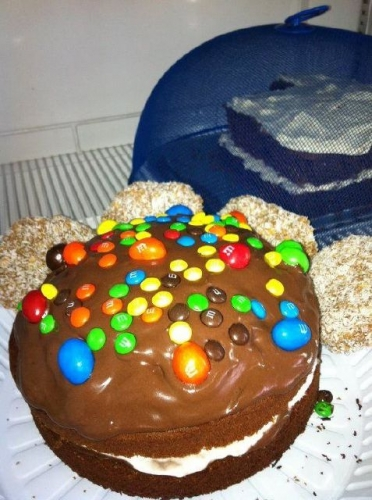 Choclate Cake Carrott Cake and Coffee Kisses Created By  Posted By JG Sandwich Cellar