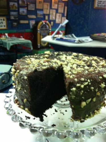 Nut and Choc Cake Created By  Posted By JG Sandwich Cellar