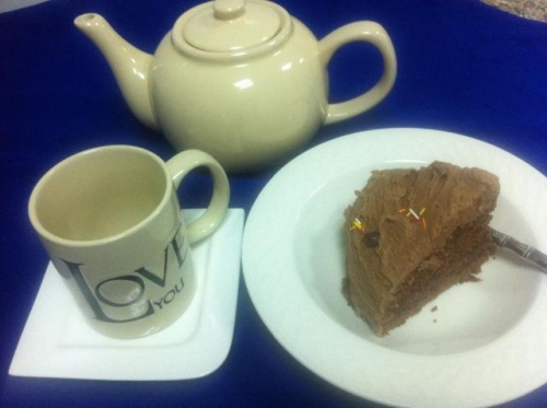Tea and Cake Created By  Posted By JG Sandwich Cellar