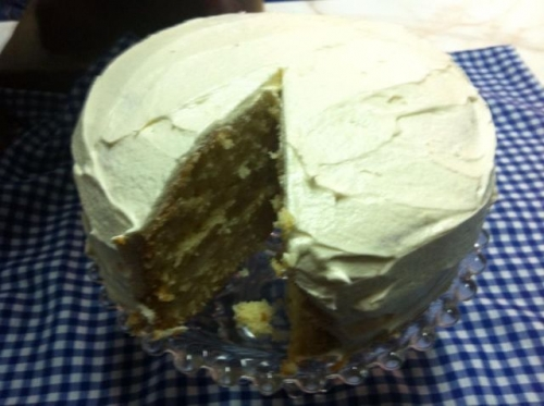 White chocolate cake Created By  Posted By JG Sandwich Cellar