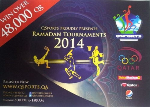 Ramadan Tournaments Created By  Posted By Campus & Student life in Qatar