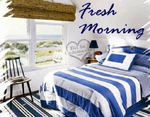 Fresh Morning starts with cleaned home
