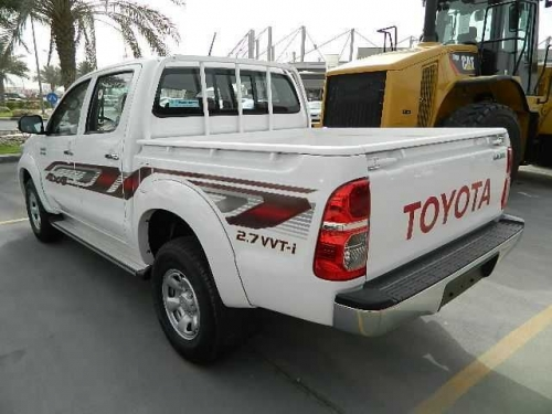 Rent A Hilux For Your Company