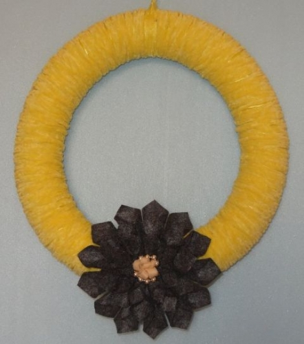 Decorative Wreath Created By Basket Of Joy Posted By Basket of Joy
