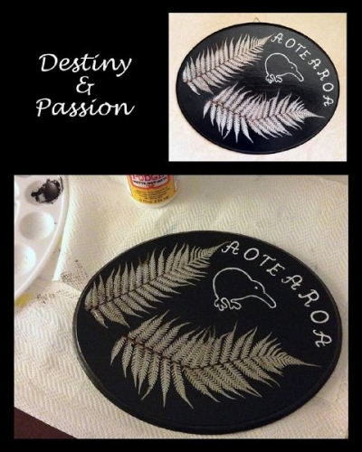 Wood and leaves of ferns Created By  Posted By Destiny And Passion