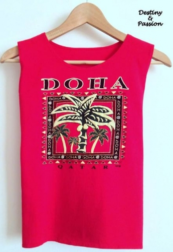 Handmade t-shirt - Doha Created By  Posted By Destiny And Passion