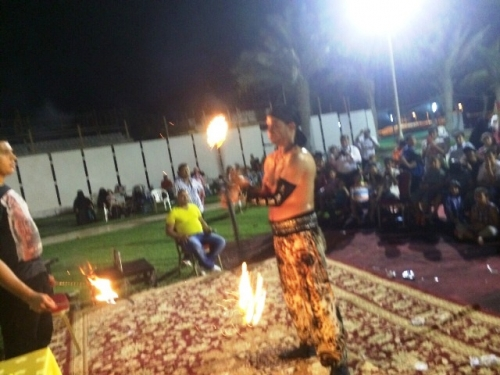 Flame Joggler Created By Omar Blawni Posted By Blawni Events