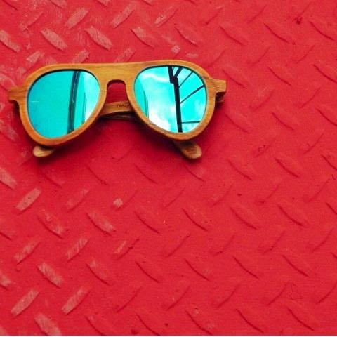 Mexican Wood Glasses Created By  Posted By Virginstone Bracelets And Cardinal Eyewear
