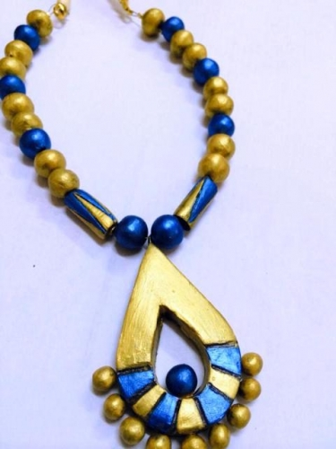Terracota necklace Created By  Posted By N Studio