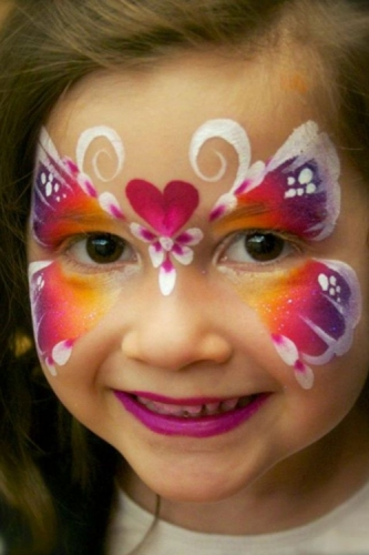 Face Painting for Parties Created By Wasan Khaled Posted By Wasan Art
