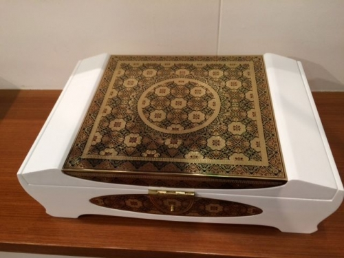 Carved Box Created By Kunhammad Posted By Amaku India Exports