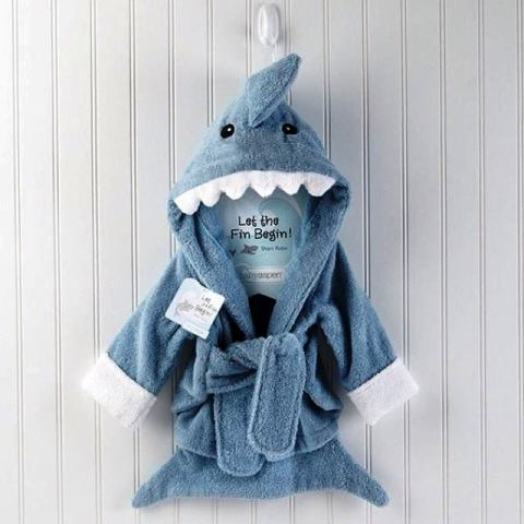 Shark Rob Bath Robe Created By  Posted By Reem Favors