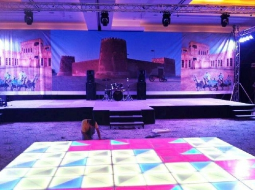 Stage Effects Created By  Posted By Ya Hala Events