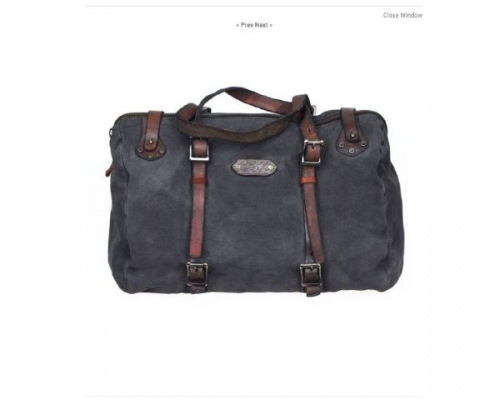 Canvas Leather Handbag Created By  Posted By Virginstone Bracelets And Cardinal Eyewear