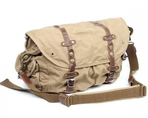 Canvas Leather Messenger Bag Created By  Posted By Virginstone Bracelets And Cardinal Eyewear