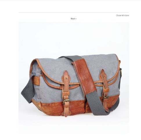 Canvas Casual Shoulder Messenger Bag Created By  Posted By Virginstone Bracelets And Cardinal Eyewear