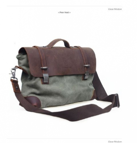 Canvas Briefcase Created By  Posted By Virginstone Bracelets And Cardinal Eyewear