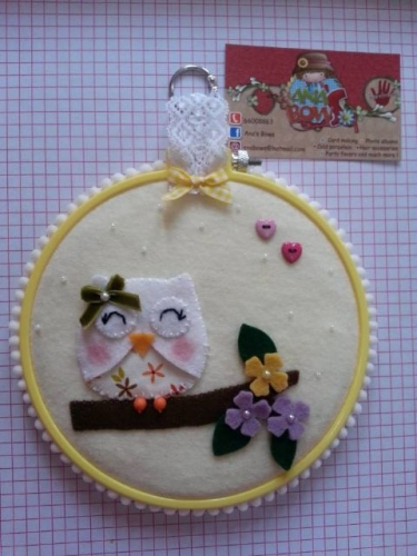 Hand Made Felt Created By  Posted By Ana's Bows
