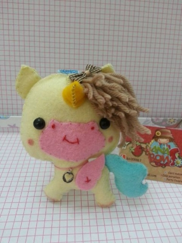 Scented unicorn keychain Created By Ana's Bows Posted By Ana's Bows