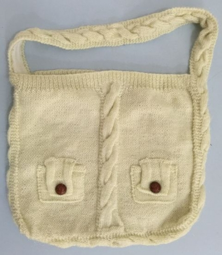 Crochet Knitted Bag Created By Khairiyah Posted By Maher & Valentino