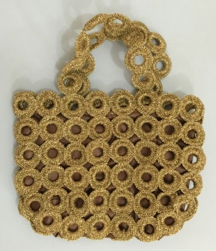 Crochet Hand Bag Created By Khairiyah Posted By Maher & Valentino