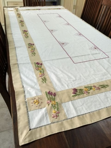 Dining Table Cover Created By Khairiyah Posted By Maher & Valentino