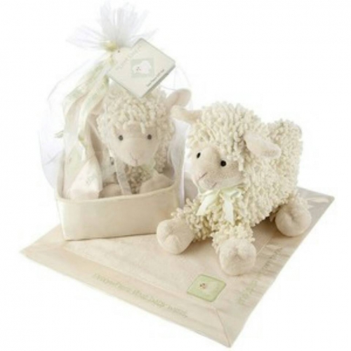 Lamb Toy+Blanket Gift Set Created By  Posted By Reem Favors