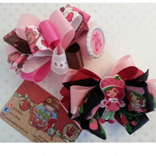 Hair bows Created By Ana's Bows Posted By Ana's Bows