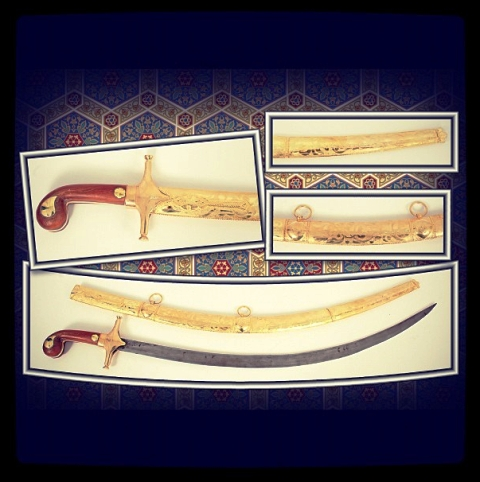 Middle Eastern Swords Created By Gheith Posted By Khalifa Alkuwari