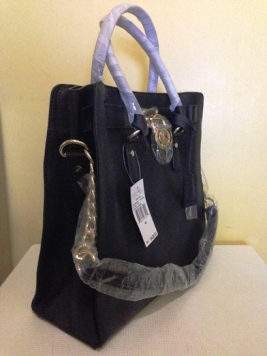 Authentic Black Hamilton Saffiano Leather Tote Large Created By Michael Kors Posted Love24less