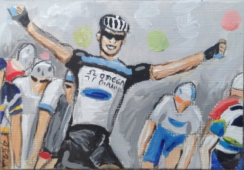 Mark Cavendish Tour of Qatar Created By Joanne Lennox Posted By Maher & Valentino