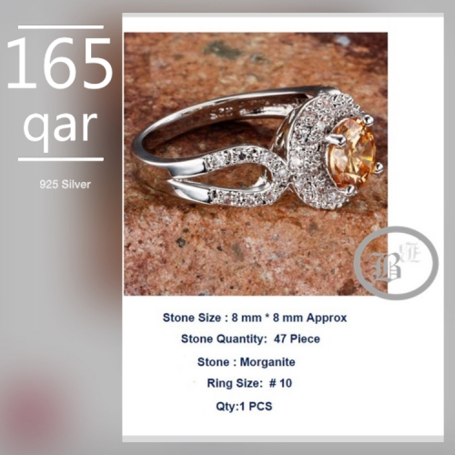 925 Silver Ring10 Created By  Posted By Bbqatar Kollections