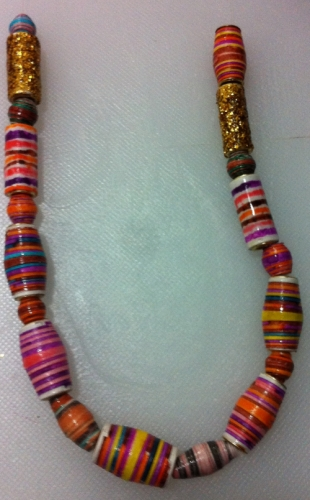 Paper beads Created By  Posted By Tareq El Sherbini