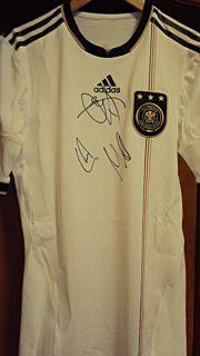 Germany Player Issue Techfit Signed Shirt Created By Adidas Posted By Derek Lyon