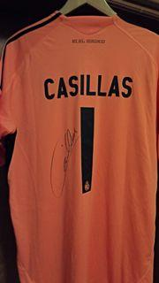 Casillas Real Madrid Signed Shirt Created By ? Posted By Derek Lyon