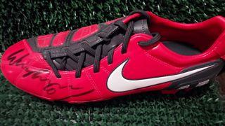 Wayne Rooney Signed Boot Created By Nike Posted By Derek Lyon