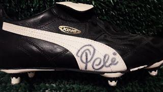 Pele Signed Boot Created By Puma Posted By Derek Lyon