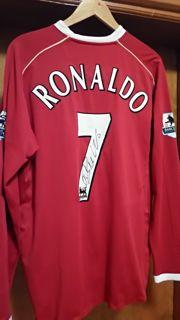 Cristiano Ronaldo Match Worn Signed Shirt Created By Nike Posted By Derek Lyon