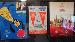 European Cup Finals Signed Programmes Created By NA Posted By Derek Lyon