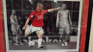 Paul Scholes Signed Picture Created By NA Posted By Derek Lyon