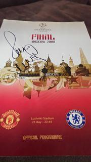 Paul Scholes Signed Programme Created By NA Posted By Derek Lyon