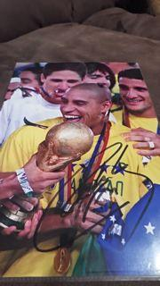 Roberto Carlos Signed Picture Created By NA Posted By Derek Lyon