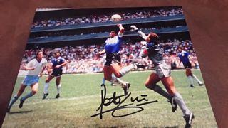 Peter Shilton Signed Picture Created By NA Posted By Derek Lyon