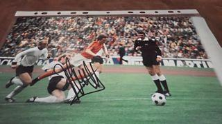 Johan Cruyff Signed Picture Created By NA Posted By Derek Lyon