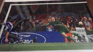Edwin Van Der Sar Signed Picture Created By NA Posted By Derek Lyon