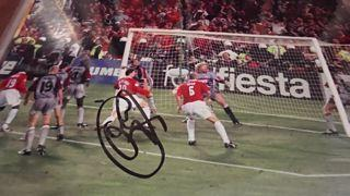 Ole Gunner Solskjaer Signed Picture Created By NA Posted By Derek Lyon