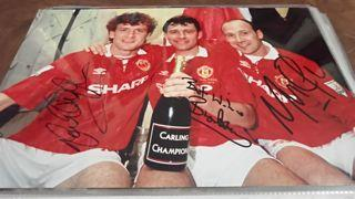 Robson, Hughes and Phelan Signed Picture Created By NA Posted By Derek Lyon