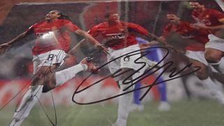 Evra and Anderson Signed Picture Created By NA Posted By Derek Lyon
