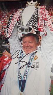 Sir Alex Ferguson Signed Picture Created By NA Posted By Derek Lyon
