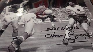 Harry Gregg Signed Picture Created By NA Posted By Derek Lyon